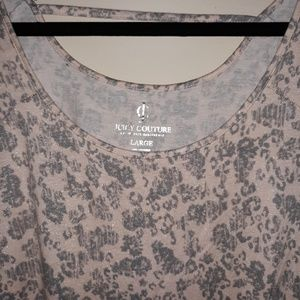 Juicy Couture Tops - Pink & Silver Juicy Couture Top